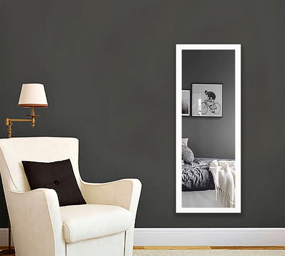 American Made Rayne Glossy White Body Mirror (V021TS or R021TS) *Suggested Retail*