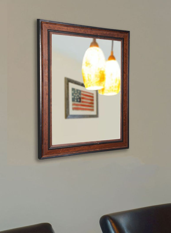 American Made Rayne Country Side Pine Wall Mirror - V0027 ~Suggested Retail~