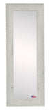American Made Rayne White Washed Antique Mirror Size 21x60 - R059TS or V059TS ~Suggested Retail~
