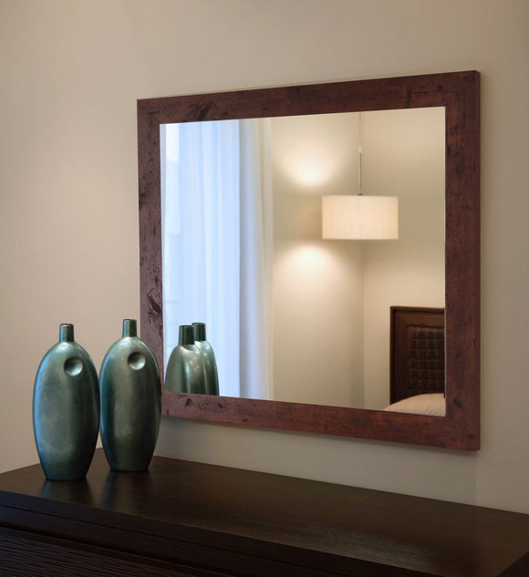 American Made Rayne Rustic Dark Walnut Wall Mirror - V061 ~Suggested Retail~