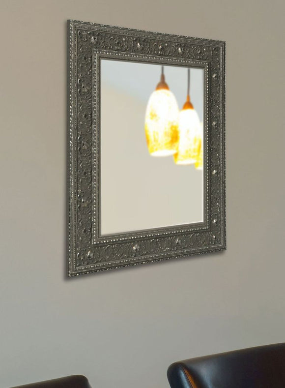 American Made Rayne Opulent Silver Wall Mirror - V070 ~Suggested Retail~