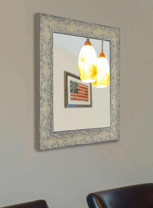 American Made Rayne Maclaren Pewter Wall Mirror - V079 ~Suggested Retail~