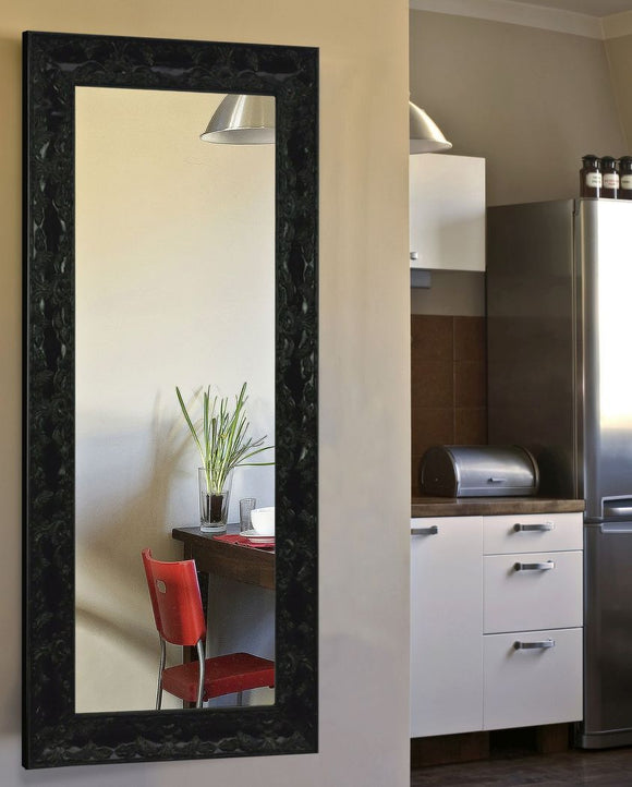 American Made Rayne Black Endicott Full Body Mirror (V080TM or R080TM) *Suggested Retail*