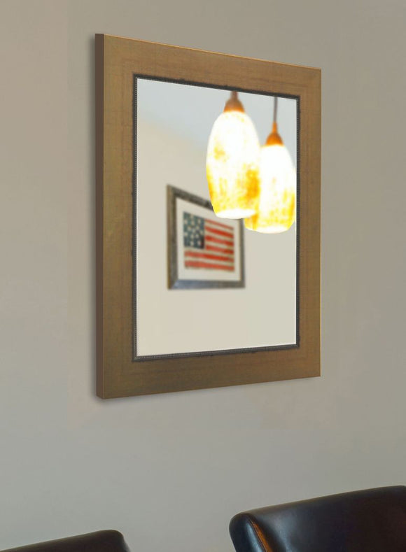 American Made Rayne Golden Lowe Wall Mirror (V082) *Suggested Retail*