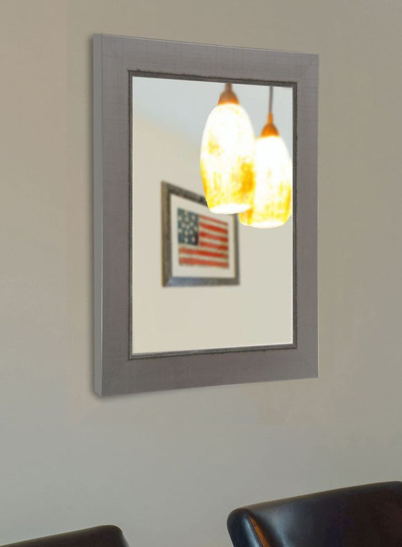 American Made Rayne Silver Swift Wall Mirror - V083 ~Suggested Retail~
