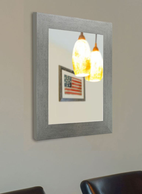 American Made Rayne Yukon Silver Wall Mirror - V084 ~Suggested Retail~