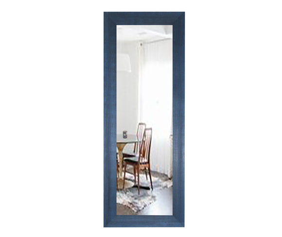 American Made Rayne Country Cottage Blue Panel Mirror (P97) *Suggested Retail*