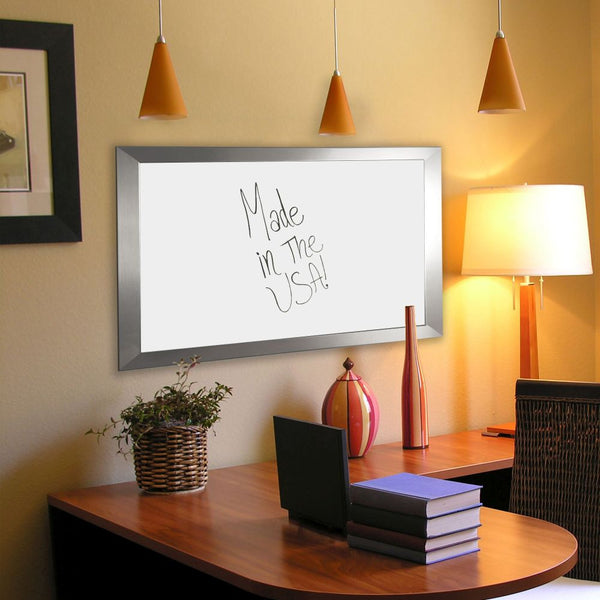American Made Rayne Silver Wide Dry Erase Board - W03 ~Suggested Retail~