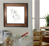 American Made Rayne Bronze and Black Dry Erase Board (W15) *Suggested Retail*