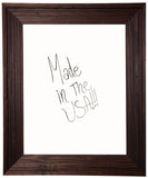 American Made Rayne Barnwood Brown Dry Erase Board (W17) *Suggested Retail*