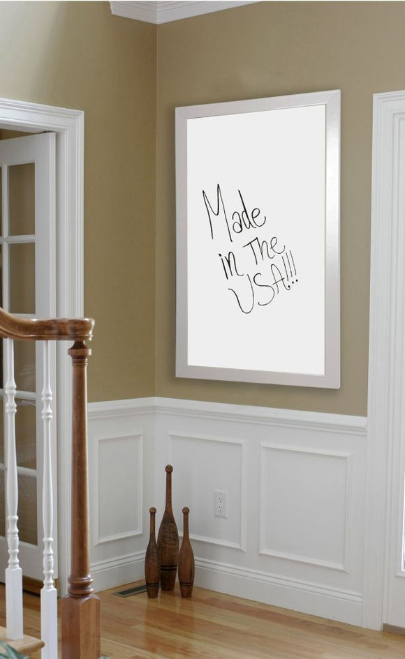 American Made Rayne Glossy White Dry Erase Board (W21) *Suggested Retail*