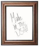 American Made Rayne Canyon Bronze Dry Erase Board (W29) *Suggested Retail*