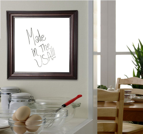 American Made Rayne American Walnut Dry Erase Board - W30 ~Suggested Retail~