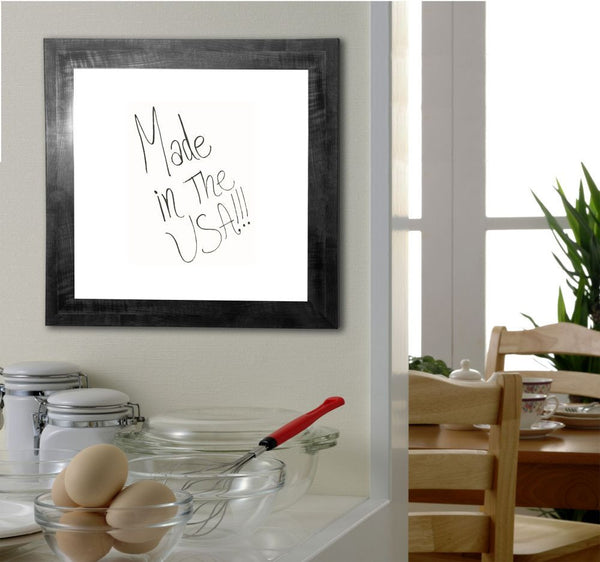 American Made Rayne Black Smoke Dry Erase Board - W45 ~Suggested Retail~