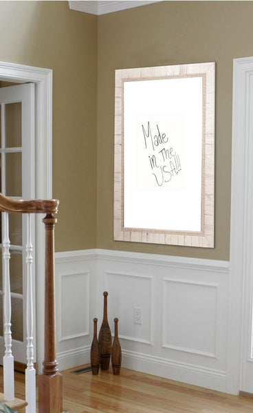 American Made Rayne Tuscan Ivory Dry Erase Board - W47 ~Suggested Retail~