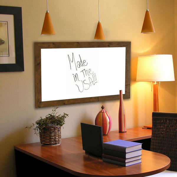 American Made Rayne Rustic Light Walnut Dry Erase Board - W62 ~Suggested Retail~