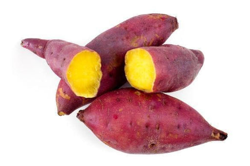 Oriental sweet potatoes (Tuber)- /Red Skin Yellow Flesh, asian vegetable, - Caribbeangardenseed