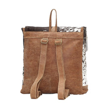 Myra Cowhide Leather Backpack