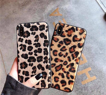 Faux Leopard iPhone Case Cover