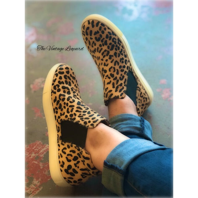 Matisse Coconuts Leopard Harlan Leather Sneakers