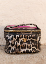 Load image into Gallery viewer, PurseN Getaway BRONZE LEOPARD Jewelry Case