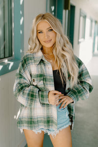 Harvest Green Plaid Jacket