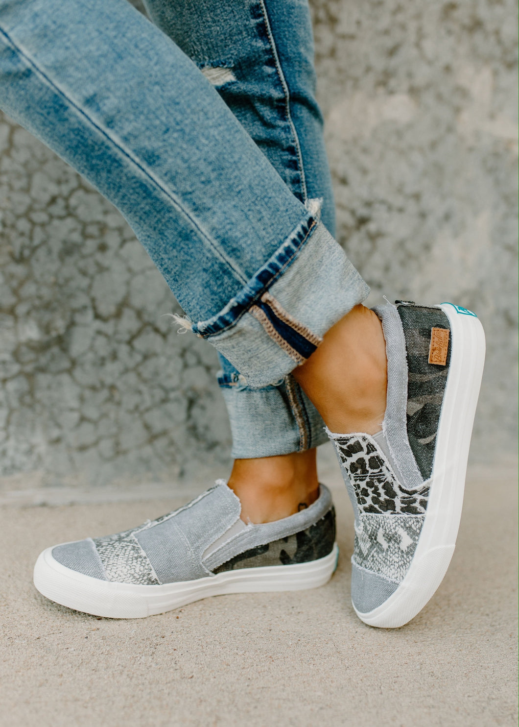 Blowfish Maddox Smoked Grey Sneaker