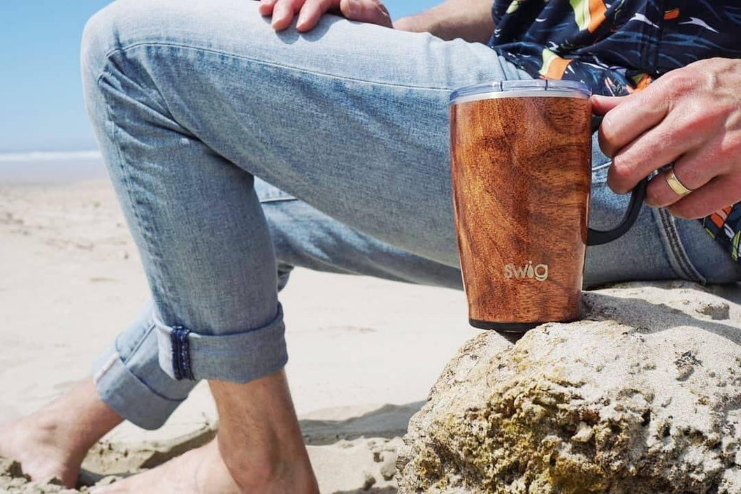 Swig 18 Oz Black Walnut TRAVEL MUG