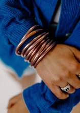 BuDha Girl ROSE GOLD All Weather Bangles Serenity Prayer