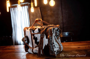 Myra Cowhide Leather Grand Traveller Duffle Bag