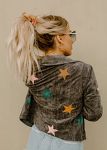 Be A Star Charcoal Moto Jacket