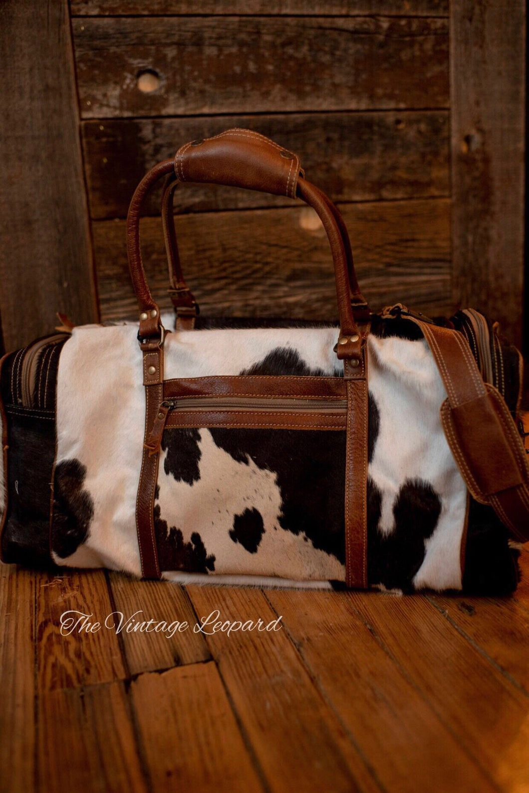 Myra Cowhide Leather Amore Traveller Duffle Bag The Vintage Leopard At myra, we provide a wide range of canvas, leather & hair on products. the vintage leopard