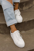 Royal Classic White & Leopard Casual Sneakers