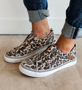 Blowfish Leopard Play Slip On Sneakers