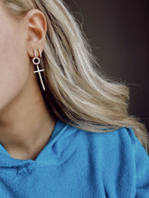 Abram Cross Drop Earring