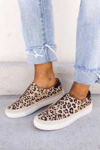 Corky's Leopard Cologne Slip On Sneakers