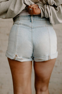 Let's Go Girls Denim Shorts