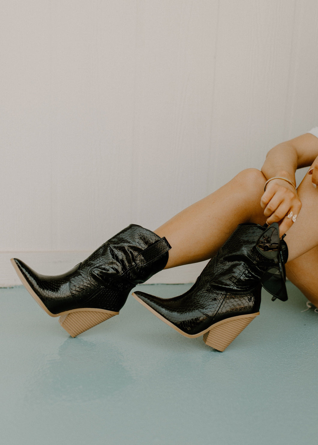 Black Fever Western Boots