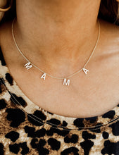 Mama Gold Crystal Necklace