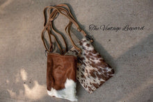 Myra Brown Cowhide Leather Crossbody