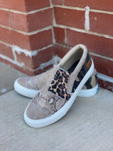Blowfish Maddox Natural Tan Sneaker