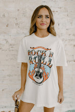 Nashville Home Of Rock N Roll Oversized Tee