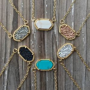 Druzy Inspired Necklace