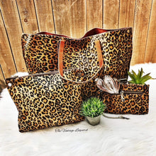 Leopard Hair on Hide Leather Collection