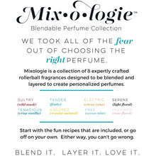 Mixologie Rollerball Fragrance Scent Perfume