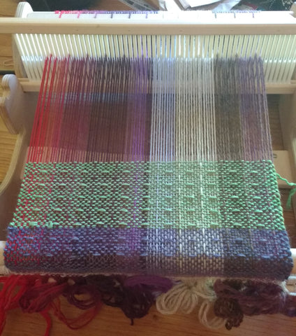 Weaving All My Scraps!