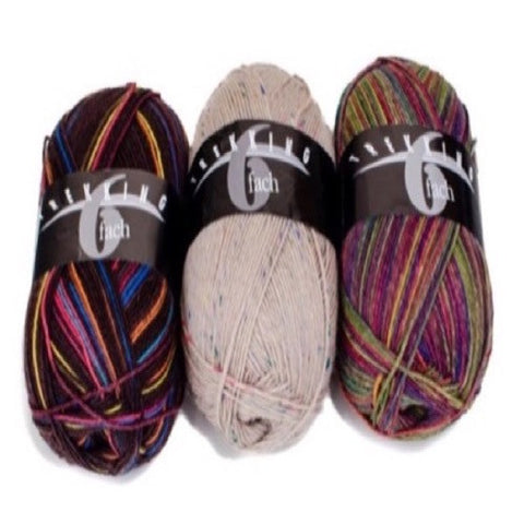 Trekking 6-Ply yarn from Skein Shop