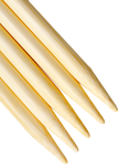 ChiaoGoo Bamboo Double Pointed Knitting Needles - 6""