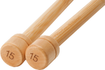 ChiaoGoo Bamboo Single Pointed Knitting Needles - 12""