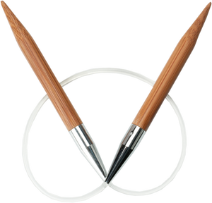 ChiaoGoo Bamboo Circular Knitting Needles - 32""